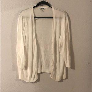 Old Navy white cardigan